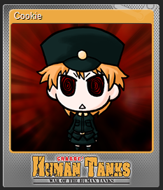 Cookie Trading Card