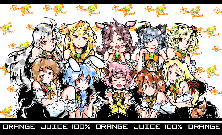 100% Orange Juice Idols by Kulastarol