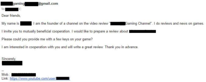 Guide: How to Recognize a Review Key Scammer